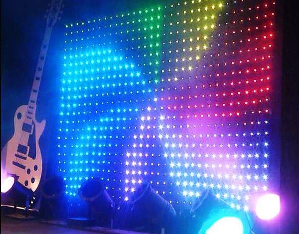 сценический задник светодиодный экран